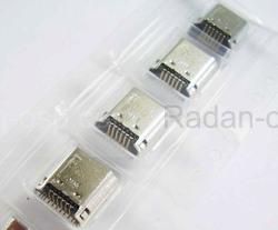 Коннектор зарядки micro usb Samsung T230/ T231, 3722-003767 (оригинал), radan-osp.com - оригинальные комплектующие, фото