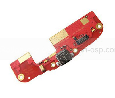 HTC Desire 500 dualsim Разъем USB на плате с микрофоном в сборе, 51H00898-06M (оригинал)