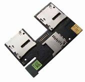 HTC Desire 500 dualsim Считыватель SIM, SD-карт на плате, 51H20565-00M (оригинал)