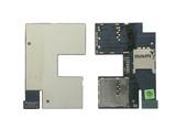 Плата с разъемами SIM и MicroSD HTC 506E Desire 500 Z4/ Desire 300 301E, 51H20565-01M (оригинал)