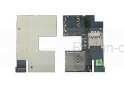 Плата с разъемами SIM и MicroSD HTC 506E Desire 500 Z4/ Desire 300 301E, 51H20565-01M (оригинал), radan-osp.com - оригинальные комплектующие, фото