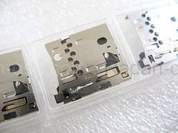 Разъем карты памяти Nokia 2690/ 2700с/ 2730с/ 3120с/ 3600s/ 5130xm/ 5320xm/ 5530xm/ 5630xm/ 5700xm, 5469781 (оригинал), radan-osp.com - оригинальные комплектующие, фото