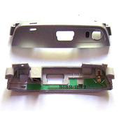 Nokia N95 Крышка нижняя с антенной серебро, 5650658 (оригинал)