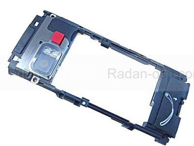 Nokia X6-00 Основа (антенный модуль) черная, 5650764 (оригинал)