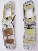 Флип B-C Nokia 3710f со шлейфом и разъемом зарядки в сборе (цвет Neutral), 6490051 (оригинал)