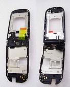 Флип B-C Nokia 3710f со шлейфом и разъемом зарядки (черный), 6490052 (оригинал)