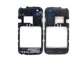 Средняя часть корпуса, черная HTC T328e Desire X Black, 74H02304-04M (оригинал)