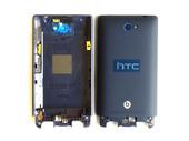 HTC A620e 8S (Rio) Atlantic Blue Cover Pre-Assy, Unibody, Dark Blue, Painting, RIO U, 74H02346-02M (оригинал)