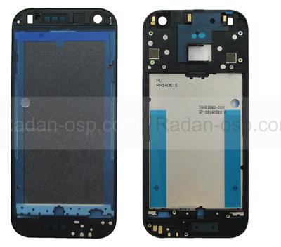 HTC One mini 2 Задняя панель корпуса (средняя часть) Gray, 74H02662-00M (оригинал)