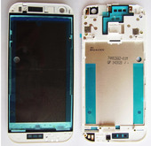 HTC One mini 2 Задняя панель корпуса (средняя часть) Silver, 74H02662-01M (оригинал)