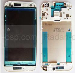 HTC One mini 2 Задняя панель корпуса (средняя часть) Silver, 74H02662-01M (оригинал), radan-osp.com - оригинальные комплектующие, фото