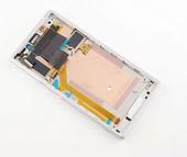 Sony D2302 Сенсор с дисплеем и передней панелью, White, 78P7120006N (оригинал)