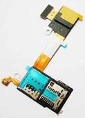 Разъем SIM и MicroSD Sony D2303/ D2305/ D2306 на шлейфе, 1 sim, 78P7170002N (оригинал)