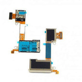 Разъем SIM и MicroSD Sony D2302 на шлейфе, DUAL-SIM, 78P7170003N (оригинал)