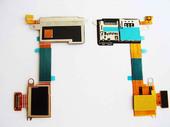 Разъем SIM-карты  и micro SD Sony D2403/ D2406 на платке, 78P7530002N (оригинал)