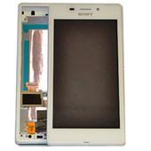Sony D2403/ D2406 Сенсор с дисплеем и передней панелью (White), 78P7550001N (оригинал)