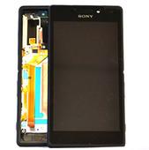 Sony D2403/ D2406 Сенсор с дисплеем и передней панелью (Black), 78P7550002N (оригинал)