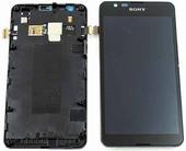 Дисплей с сенсором в сборе Sony Xperia E4g E2003, 78P8610001F (оригинал)