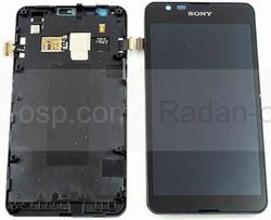 Дисплей с сенсором в сборе Sony Xperia E4g E2003, 78P8610001F (оригинал), radan-osp.com - оригинальные комплектующие, фото