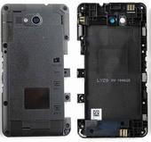 Средняя часть корпуса со стеклом камеры Sony Xperia E4g E2003, 78P8640002N (оригинал)