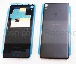 Крышка задняя аккумулятора Sony Xperia XA F3112/ F3111 (Black), 78PA3000030 (оригинал), radan-osp.com - оригинальные комплектующие, фото