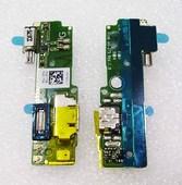 Разъем microUSB с микрофоном и вибромотором Sony Xperia XA F3112/ F3111 (на плате), 78PA3300010/ 78PA3300030 (оригинал)