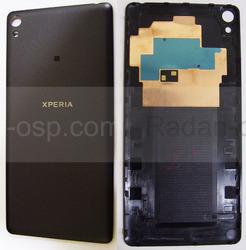 Крышка задняя аккумулятора Sony Xperia E5 F3311 (Black), 78PA4200020 (оригинал), radan-osp.com - оригинальные комплектующие, фото