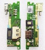 Разъем USB, микрофон, вибромотор на платке Sony Xperia XA1 G3112, 78PB0400020 (оригинал)