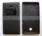 Крышка Nokia X/ X+ задняя (батареи), черная, 8003222 (оригинал)