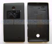 Кришка Nokia X/ X + задня (батареї), чорна, 8003222 (оригінал)