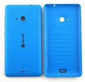 Крышка задняя (аккумулятора) Microsoft Lumia 535, синяя, 8003485 (оригинал)