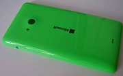 Кришка задня (акумулятора) Microsoft Lumia 535, зелена, 8003487 (оригінал)