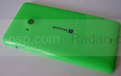 Крышка задняя (аккумулятора) Microsoft Lumia 535, зеленая, 8003487 (оригинал), radan-osp.com - оригинальные комплектующие, фото