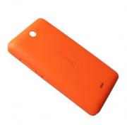Кришка батареї Microsoft Lumia 430 (помаранчева), 8003542 (оригінал)