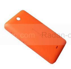Крышка батареи Microsoft Lumia 430 (оранжевая), 8003542 (оригинал), radan-osp.com - оригинальные комплектующие, фото