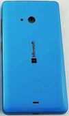 Крышка задняя аккумулятора Microsoft Lumia 540 (синяя CYAN), 8003568 (оригинал)