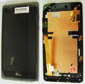 Дисплей с сенсором в сборе HTC desire 600 dual sim Black, 80H01566-00 (оригинал)