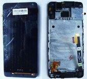 Дисплей с сенсором HTC 601n One mini (black), 80H01596-01 (оригинал)
