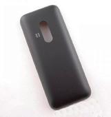 Крышка задняя Nokia Asha 220 черная, 9448648 (оригинал)