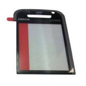 Nokia 5730xm Стекло дисплейное черное с серебром, 9461839 (оригинал)