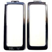 Nokia E90 Рамка передняя декоративная черная-хром, 9467858 (оригинал)