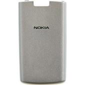 Nokia X3-02 Крышка батарейная белая, 9501694 (оригинал)