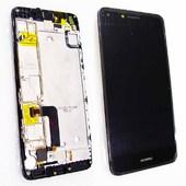 Дисплей с сенсором Huawei Y5 II CUN-U29 Black со слуховым динамиком, шлейфом боковых кнопок, 97070MSD (оригинал)