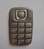 Nokia 6085 Клавиатура серебристая, 9791597 (оригинал)
