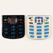 Nokia 6220с Клавиатура черная-циан, 9793851 (оригинал)