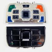 Nokia E66 Клавиатура функциональная белая, 9793903 (оригинал)
