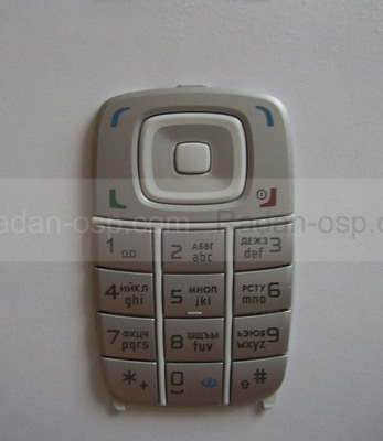 Nokia 6101 клавиатура белая, 9798076 (оригинал)