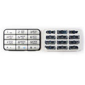 Nokia 3250 Клавиатура цифровая серебристая, 9798525 (оригинал)