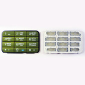 Nokia 3250 Клавиатура цифровая зеленая, 9798533 (оригинал)