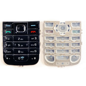 Nokia 6233 Клавиатура набора номера лат., Latin Black Classic, 9798721 (оригинал)